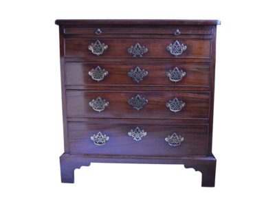 George-III-Mahogany-Chest-of-drawers