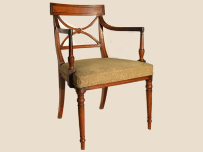George-III-mahogany-Desk-Chair