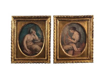 Pair-of-George-III-Stipple-Engravings