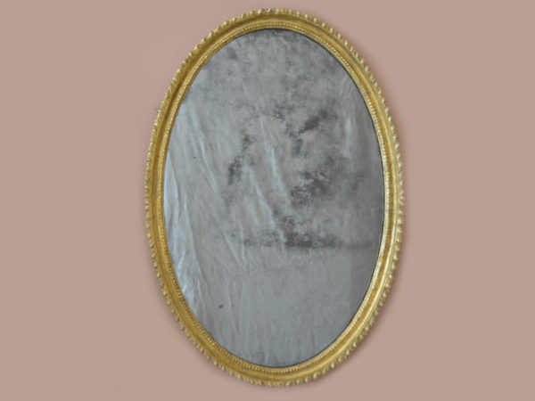 George-III-oval-Adam-giltwood-mirror