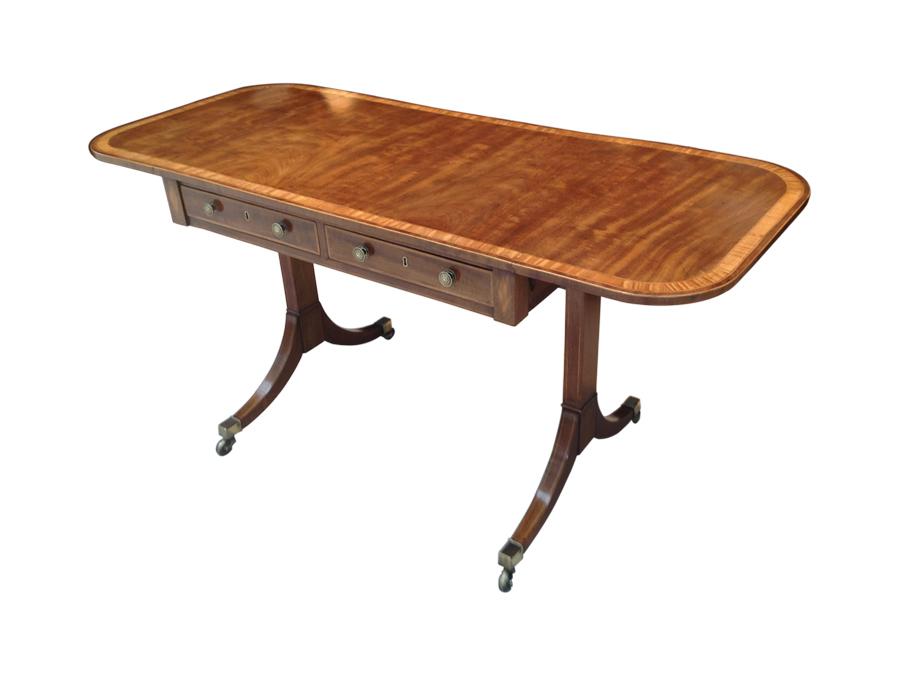 A fine george iii mahogany sofa table c1790 jger antiques fine george 111 mahogany sofa table 1 watchthetrailerfo
