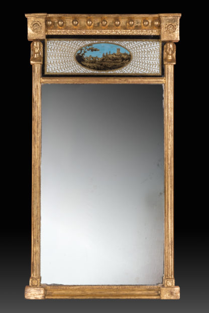 George-III-Regency-Giltwood-Mirror