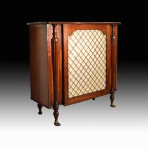 Fine George III Mahogany Cabinet C.1815
