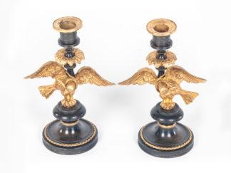 Pair-of-George-III-candlesticks