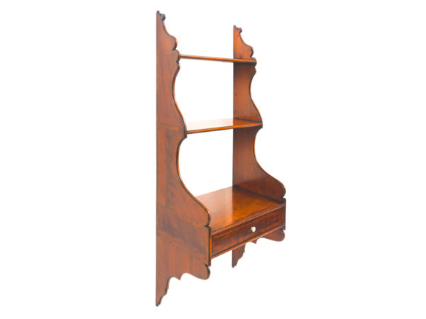 Mahogany-Hanging-Shelves