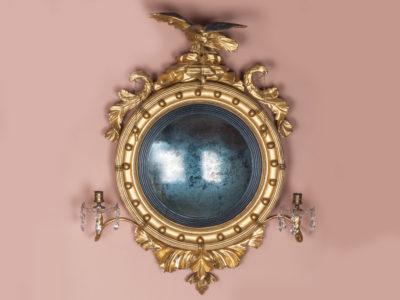 George-III-giltwood-Convex-Mirror