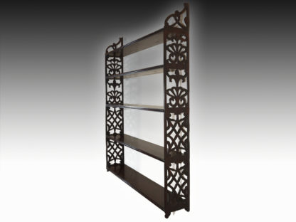 George-III-Mahogany-Hanging-Shelves