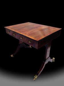 George III Regency Rosewood Centre Table