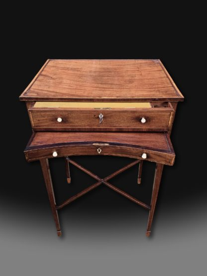 George III Mahogany Writing Table