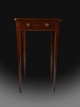 George III Mahogany Occasional Table