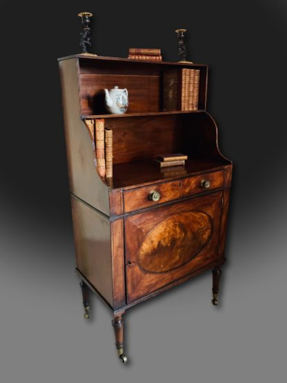 George III Mahogany Bookself of the Sheraton Period