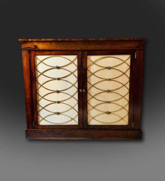 Fine Regency Rosewood Cabinet,