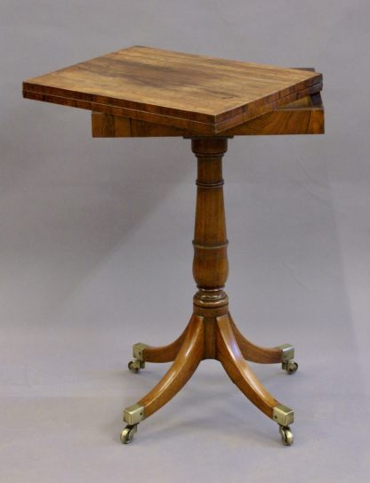 Rosewood Games Table open